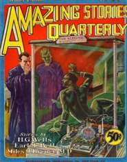 Amazing Stories Quarterly 1928 Winter cover image