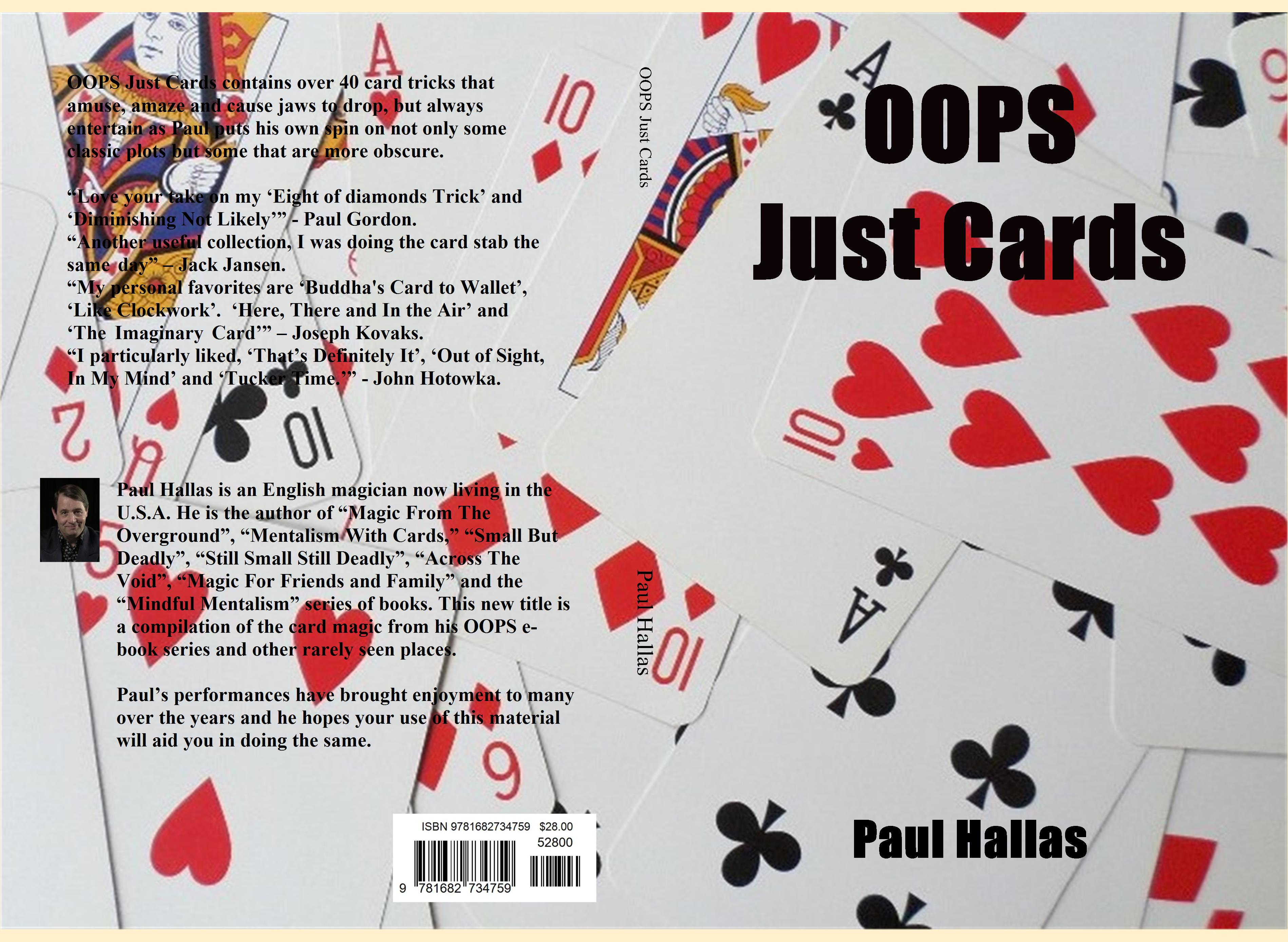 OOPS Just Cards cover image