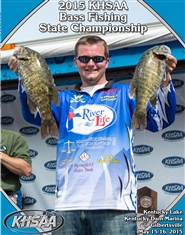 2015 KHSAA Bass Fishing State Championship Program (B&W) cover image