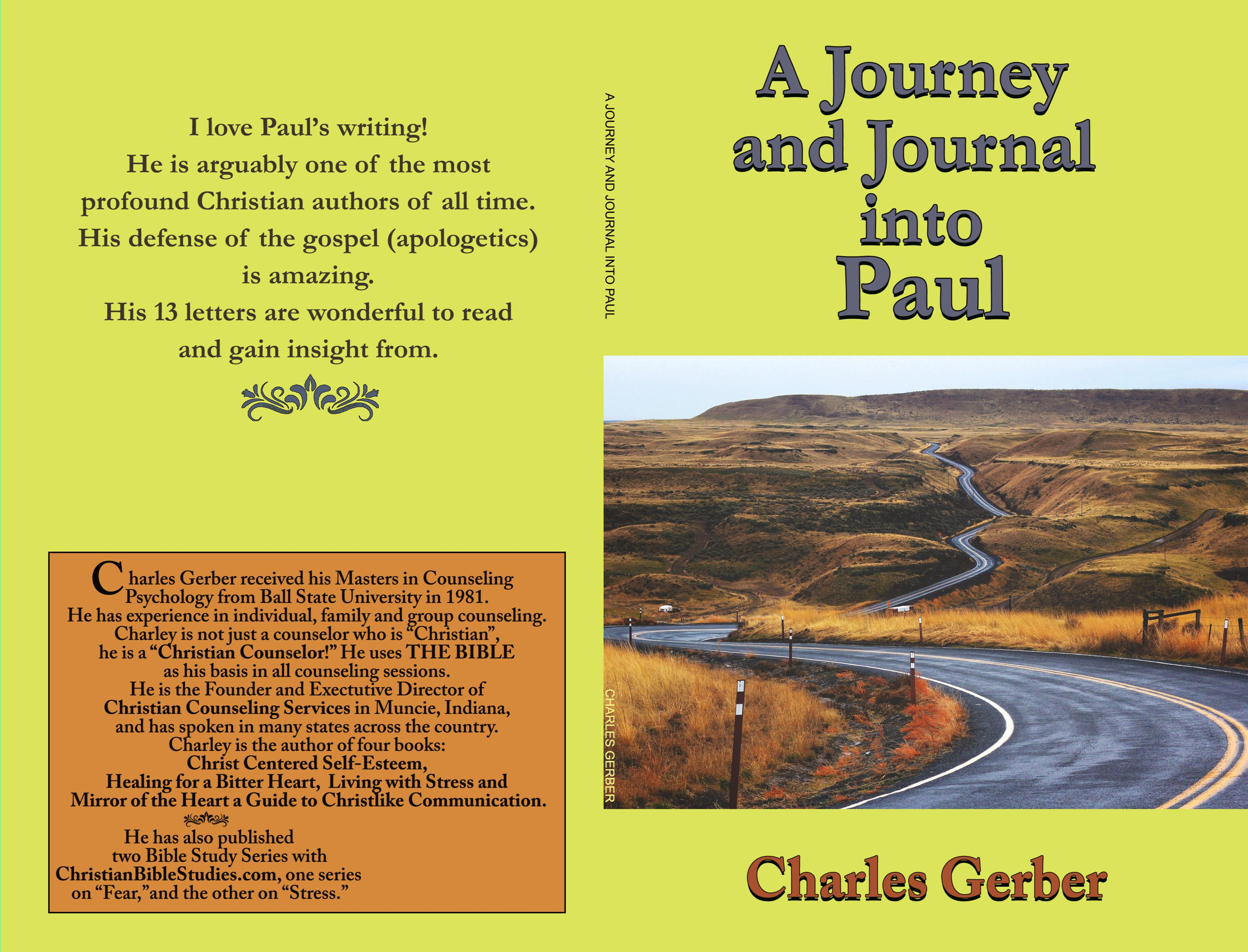 A Journal and Journey into Paul cover image