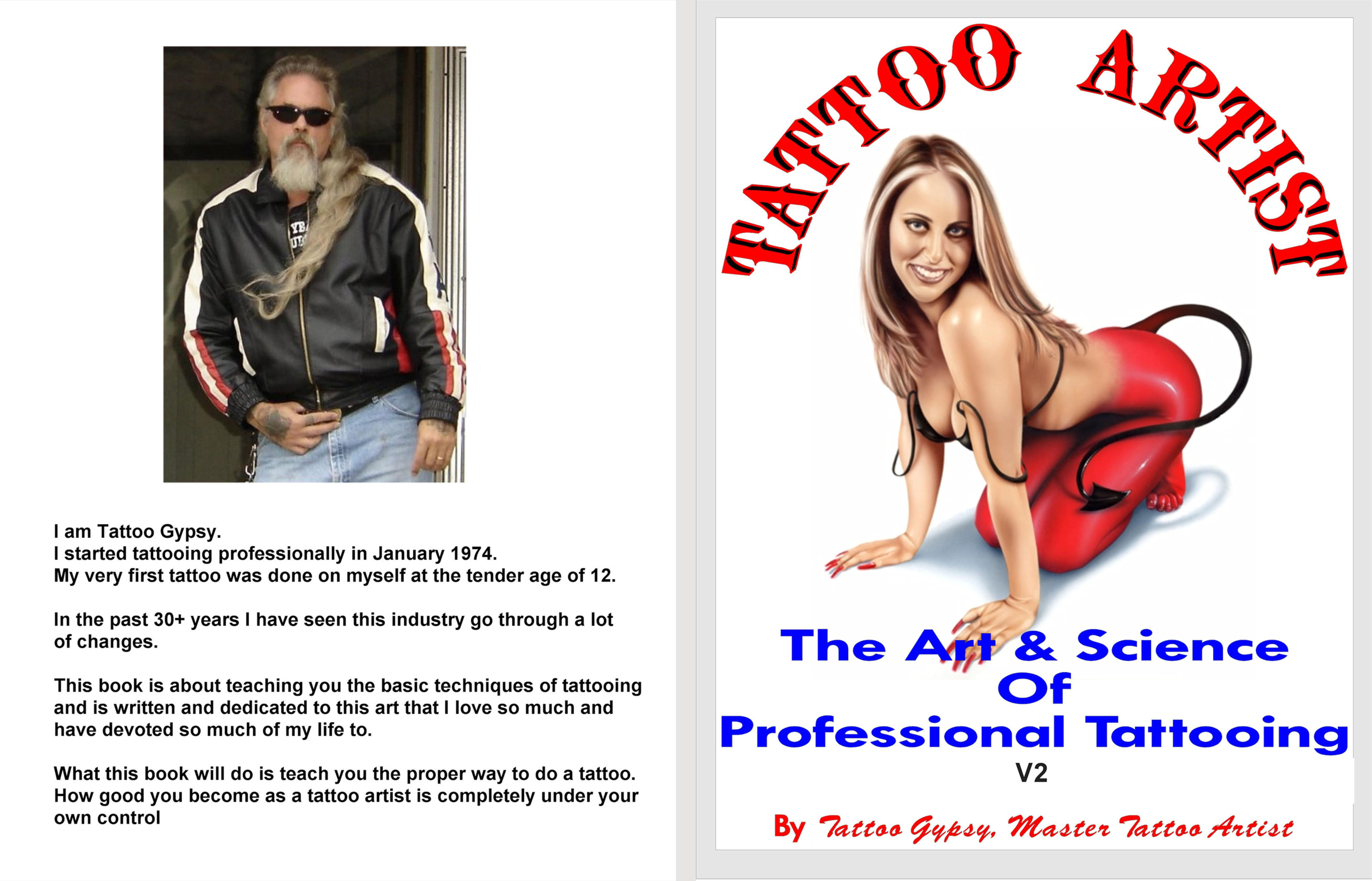 Tattoo Artist - The Art & Science of Professional Tattooing V2 cover image