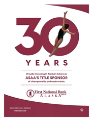 2019 ASAA/First National Bank Alaska Swim & Dive State Championships Program cover image