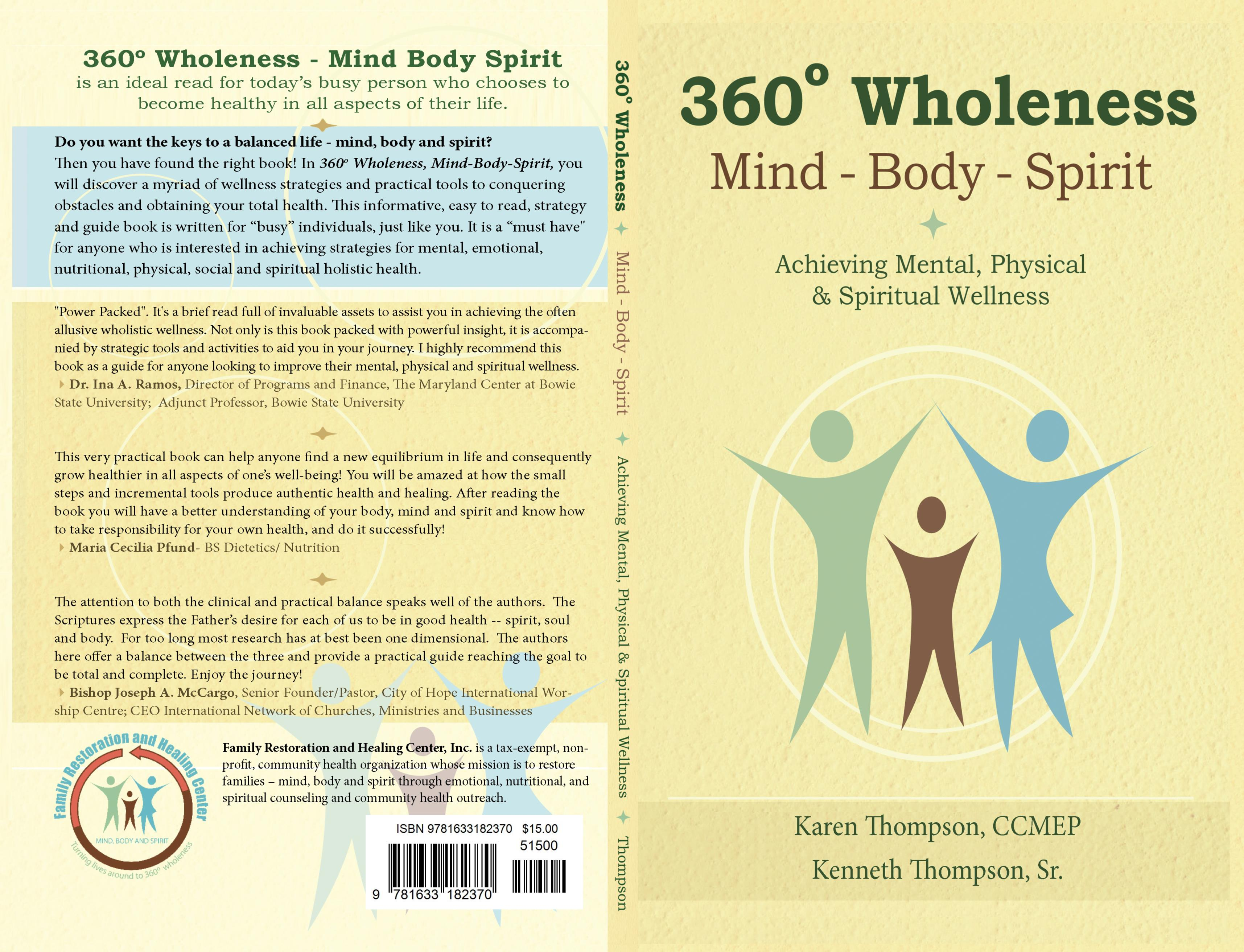 360o Wholeness, Mind-Body-Spirit cover image