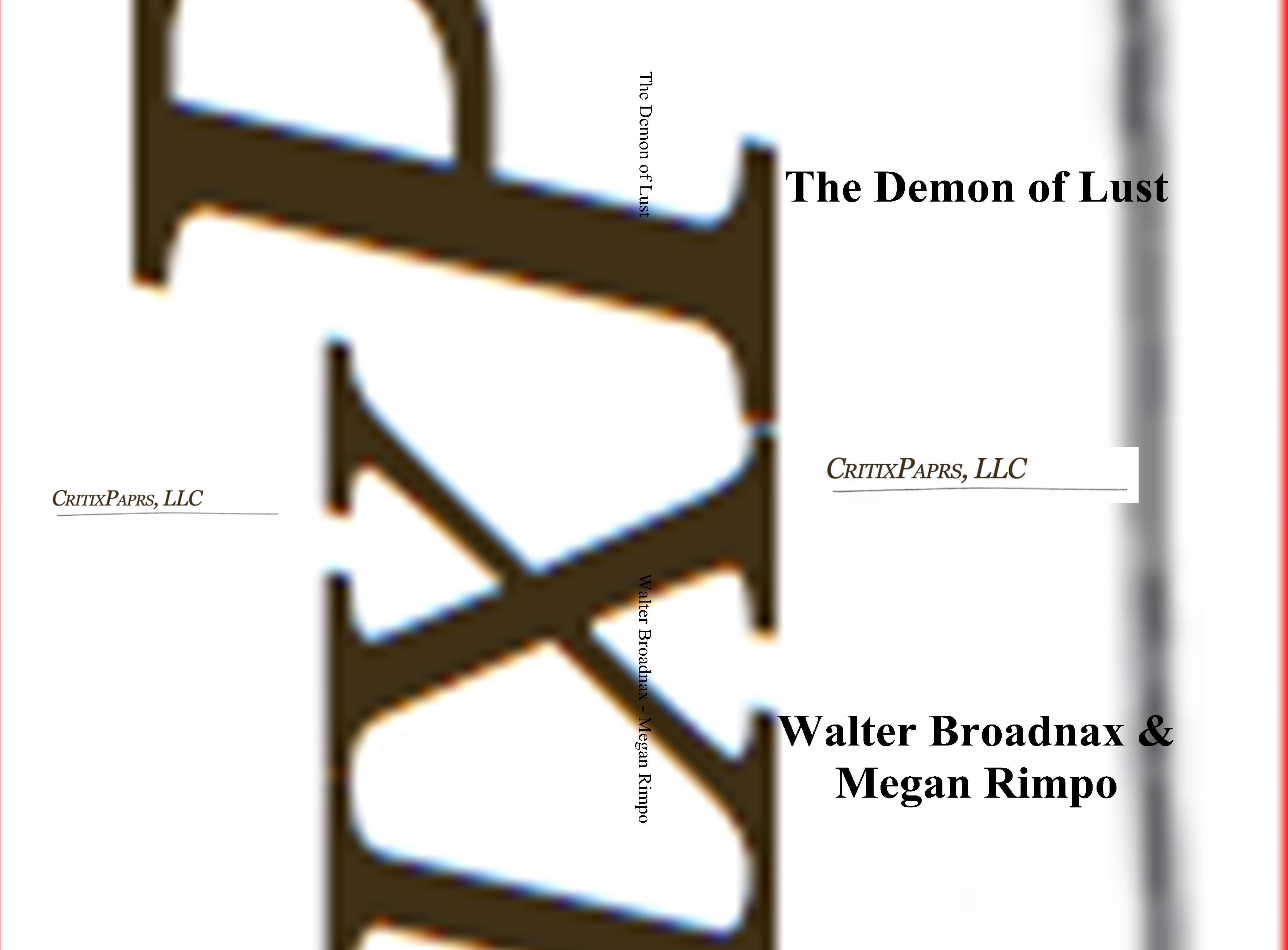 The Demon of Lust cover image