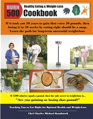 Burn 500 Cookbook cover image