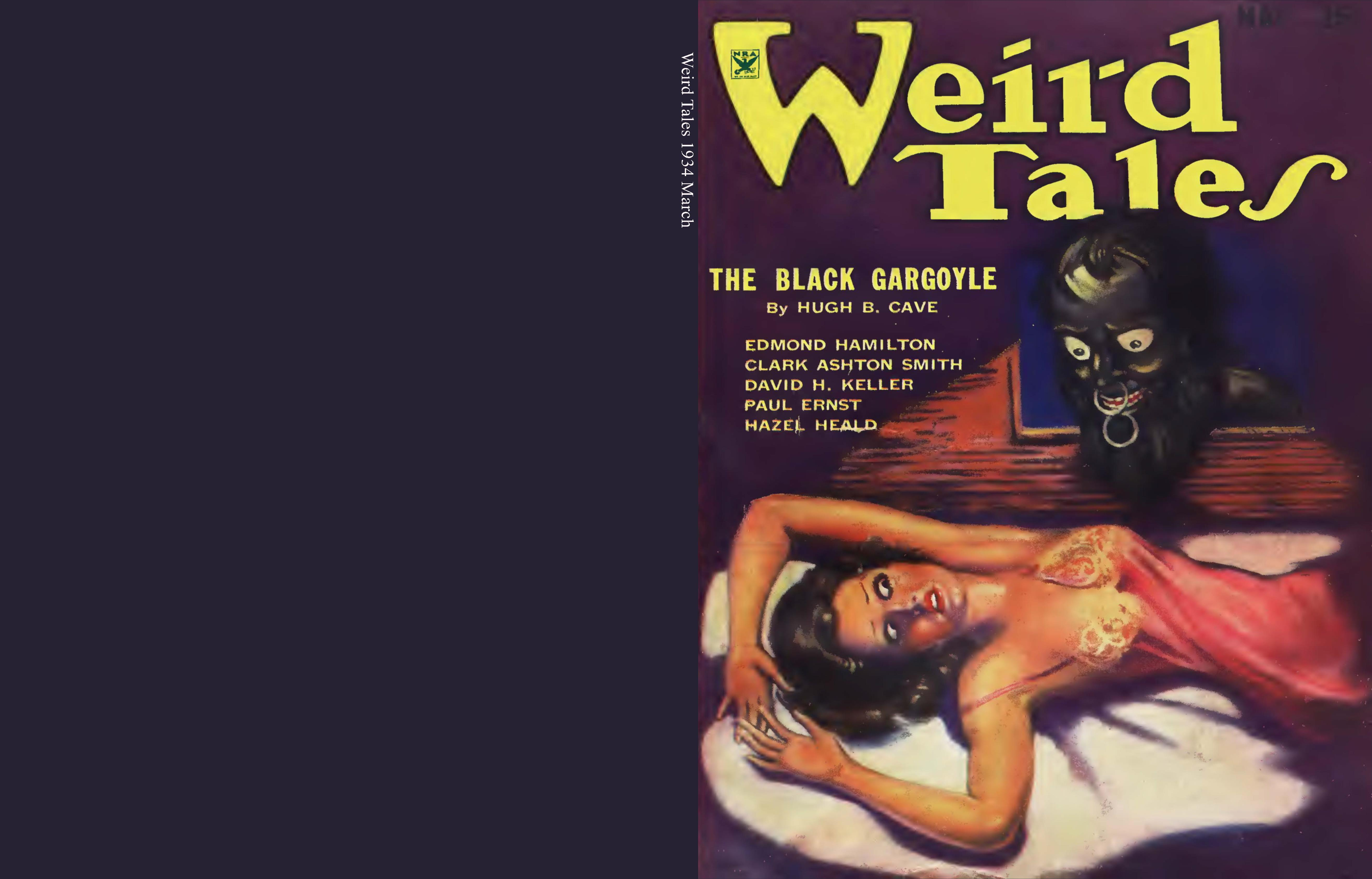 Weird Tales 1934 March cover image