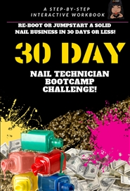 30 DAY NAIL TECH CHALLENGE cover image
