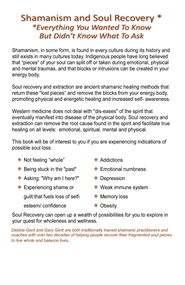 Shamanism & Soul Recovery -- Everything You Wanted To Know But Didn