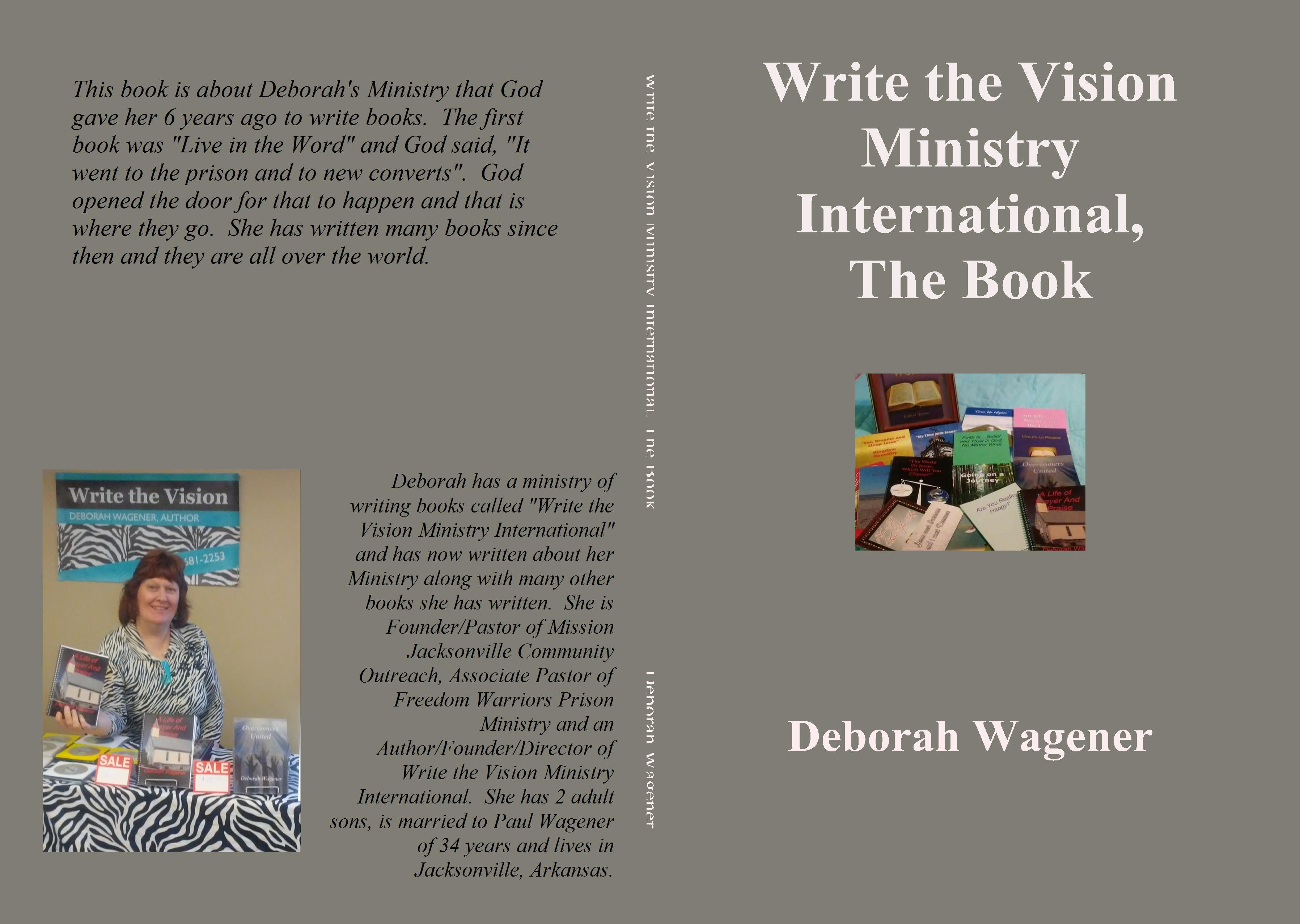 Write the Vision Ministry International, The Book cover image