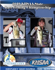 2019 KHSAA Bass Fishing State Championship Program (B&W) cover image