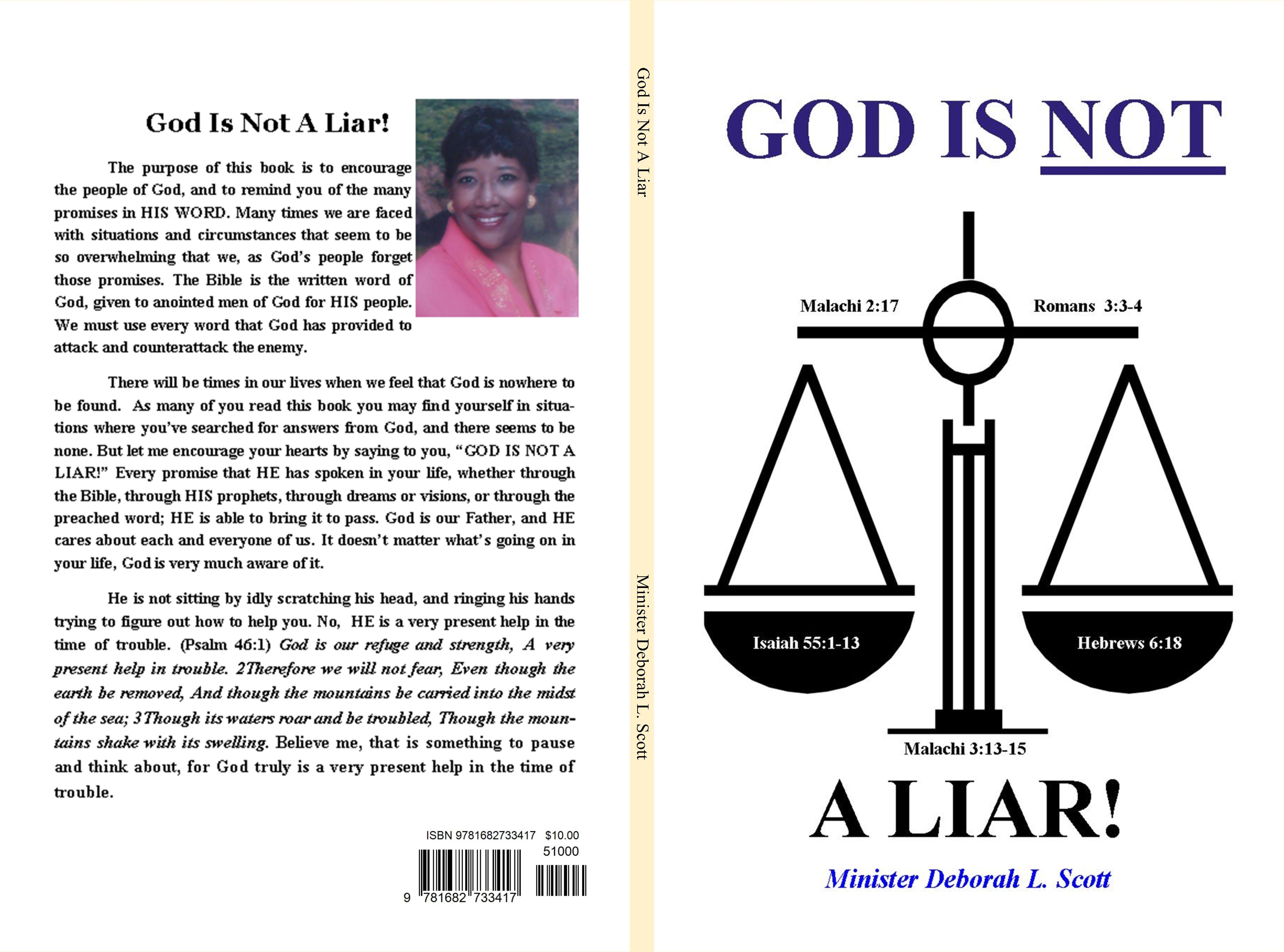 God Is Not A Liar cover image