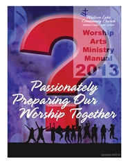 WLCC Worship Arts Team Manual - 2013 cover image
