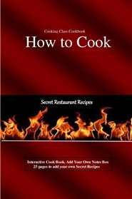 Cooking Class CookbookHow to cook cover image