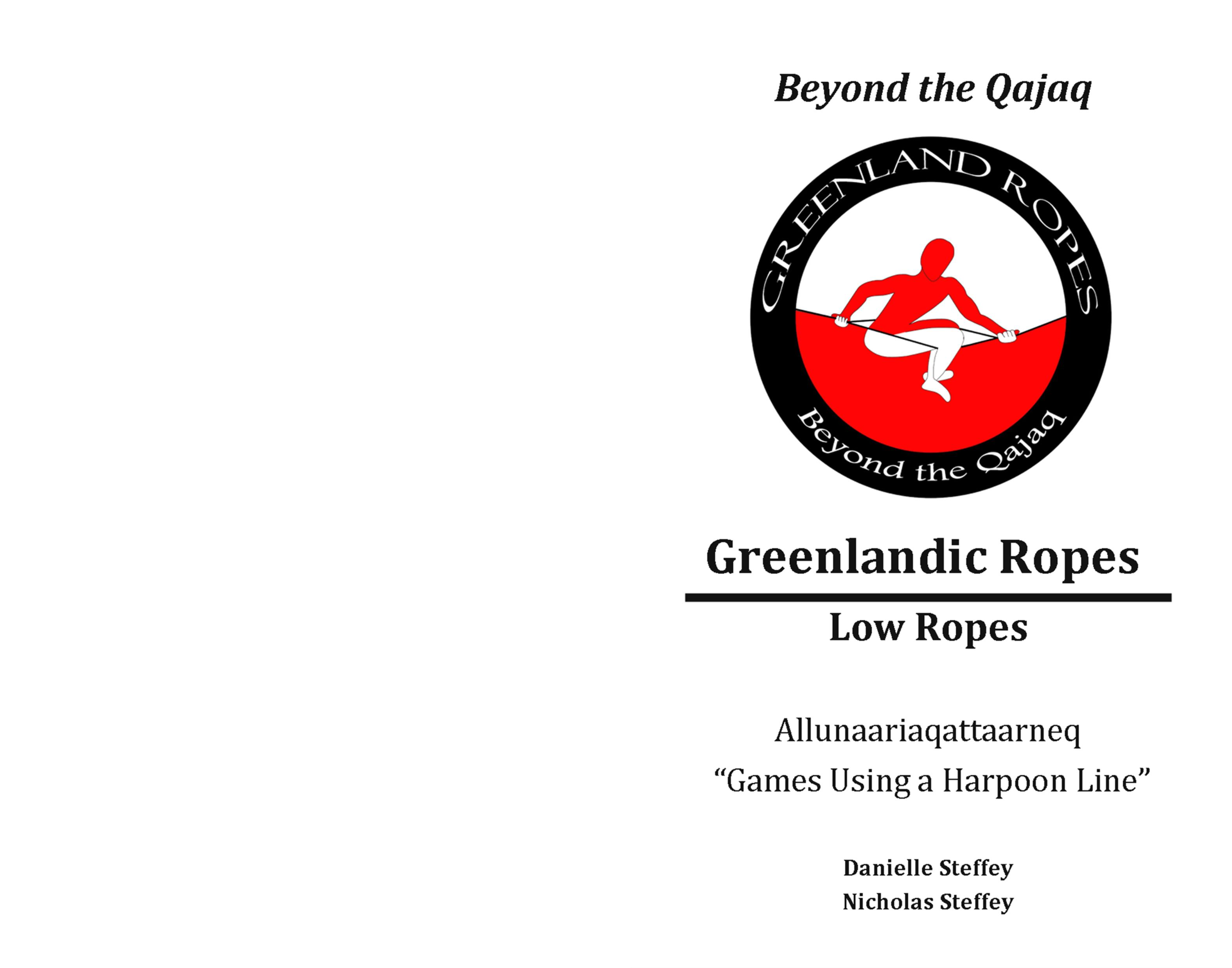Greeland Ropes w/Instructions cover image
