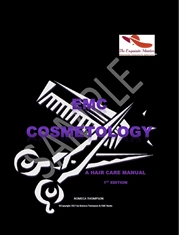 EMC Cosmetology Hair Care Manual 1st Edition (English) cover image