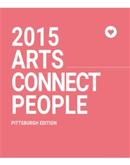 ARTS CONNECT PEOPLE 2015 - I Am An Arts Lover project magazine cover image