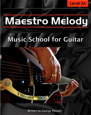 Maestro Melody Music School for Guitar Level 3A cover image