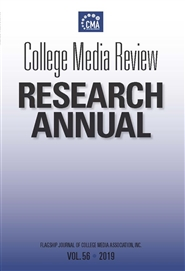 College Media Review Research Annual 2019 cover image