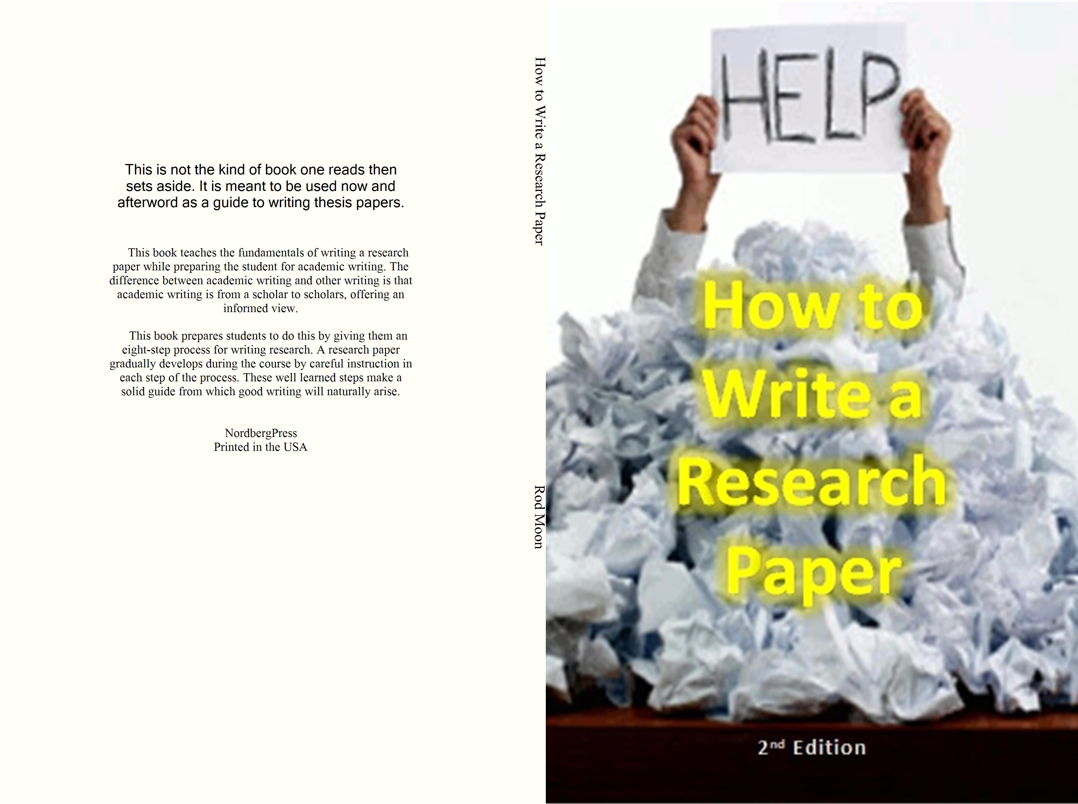 How to Write a Research Paper cover image