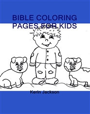 BIBLE COLORING PAGES FOR KIDS cover image