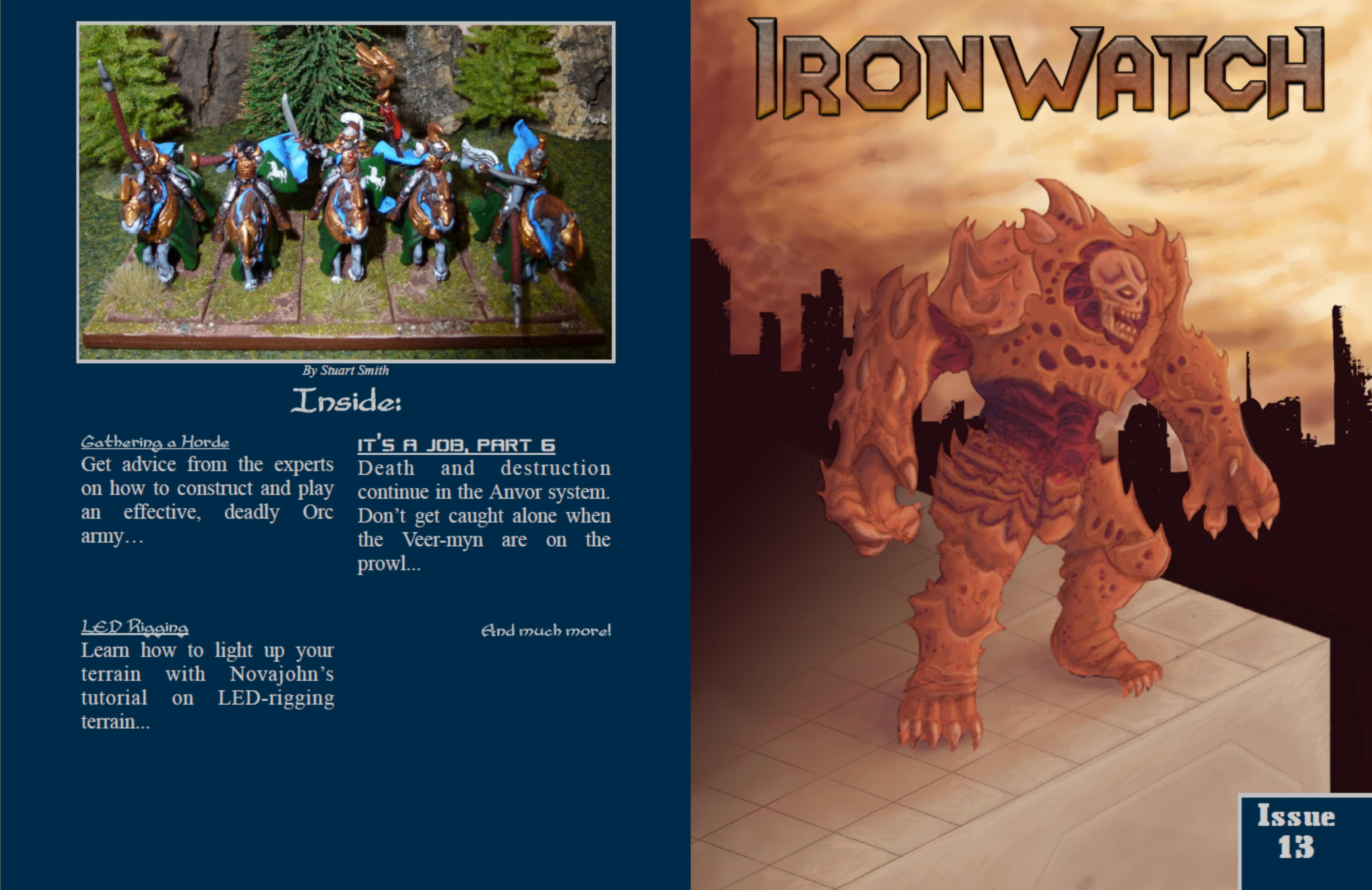 Ironwatch Issue 13 cover image