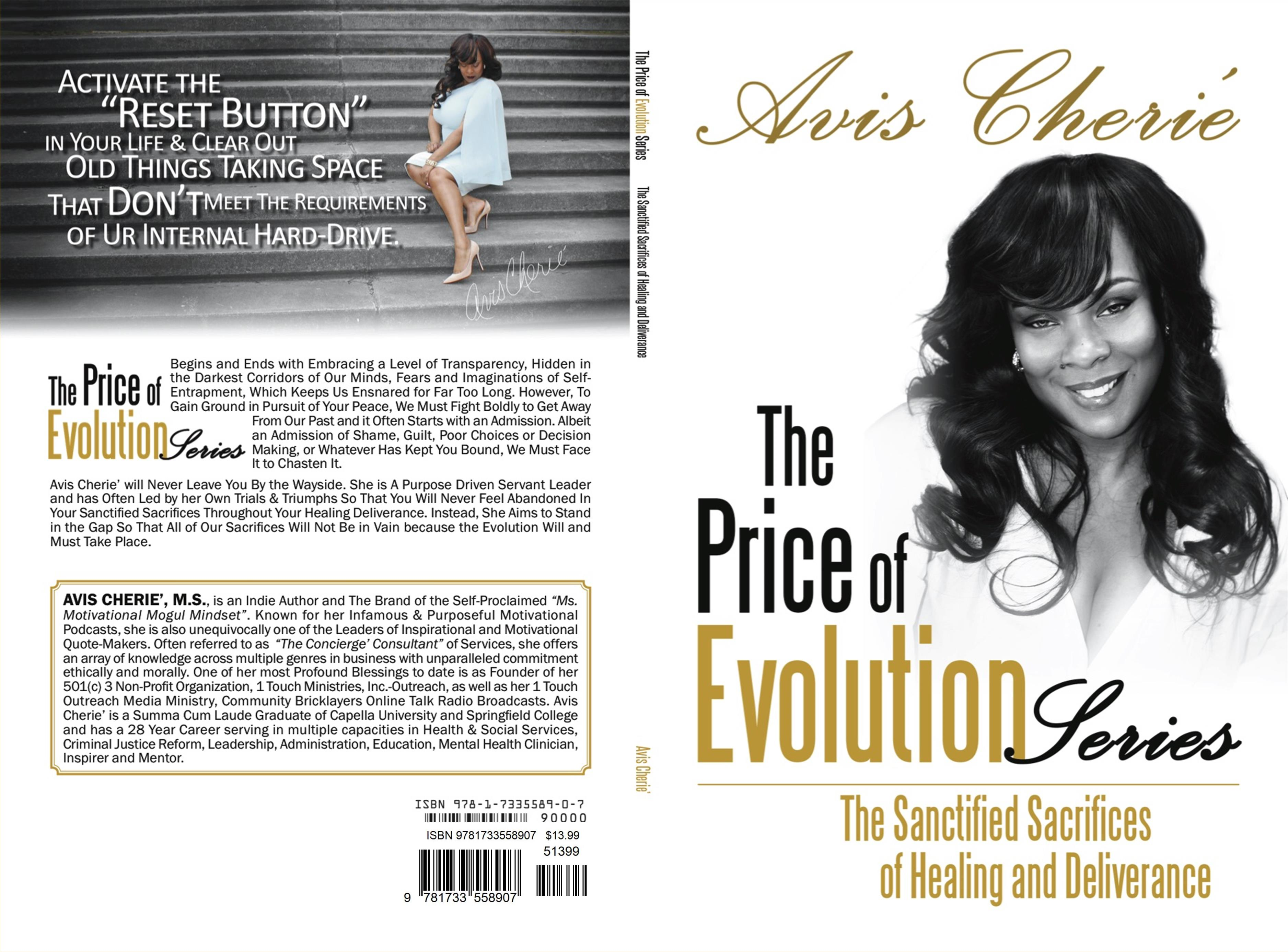 The Price of Evolution Series: The Sanctified Steps to Healing and Deliverance cover image