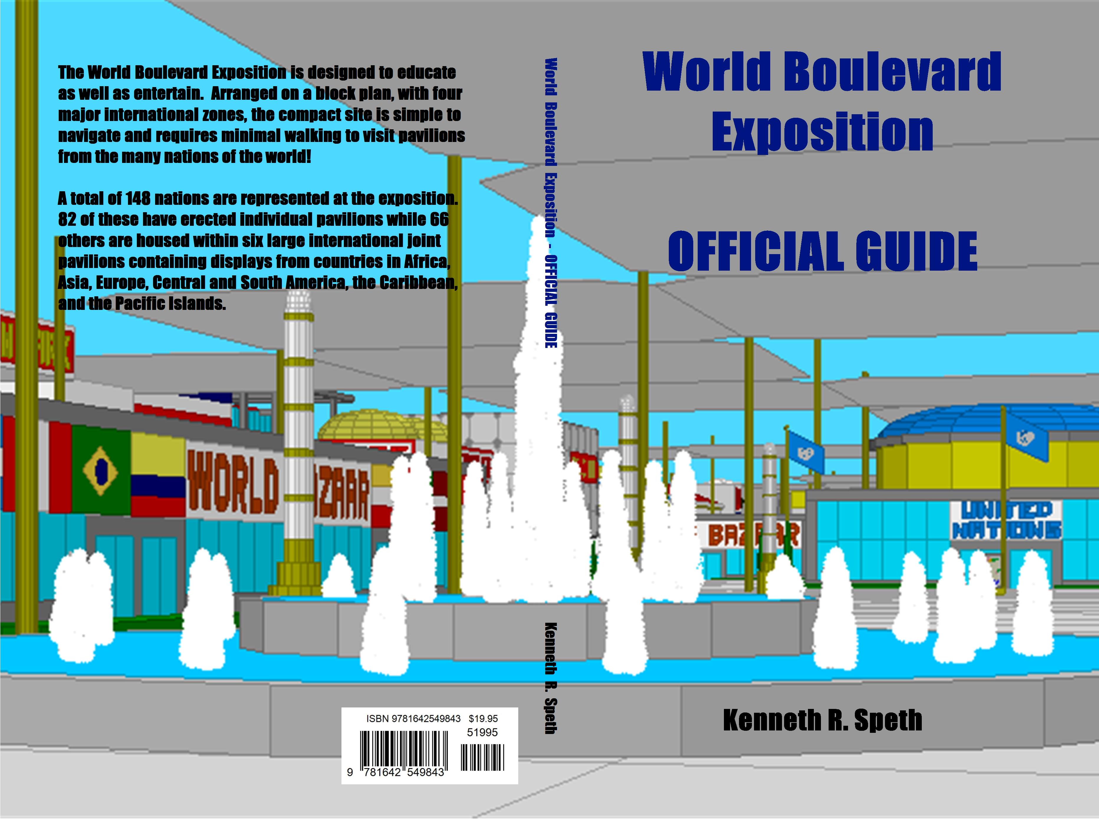 World Boulevard Exposition OFFICIAL GUIDE cover image