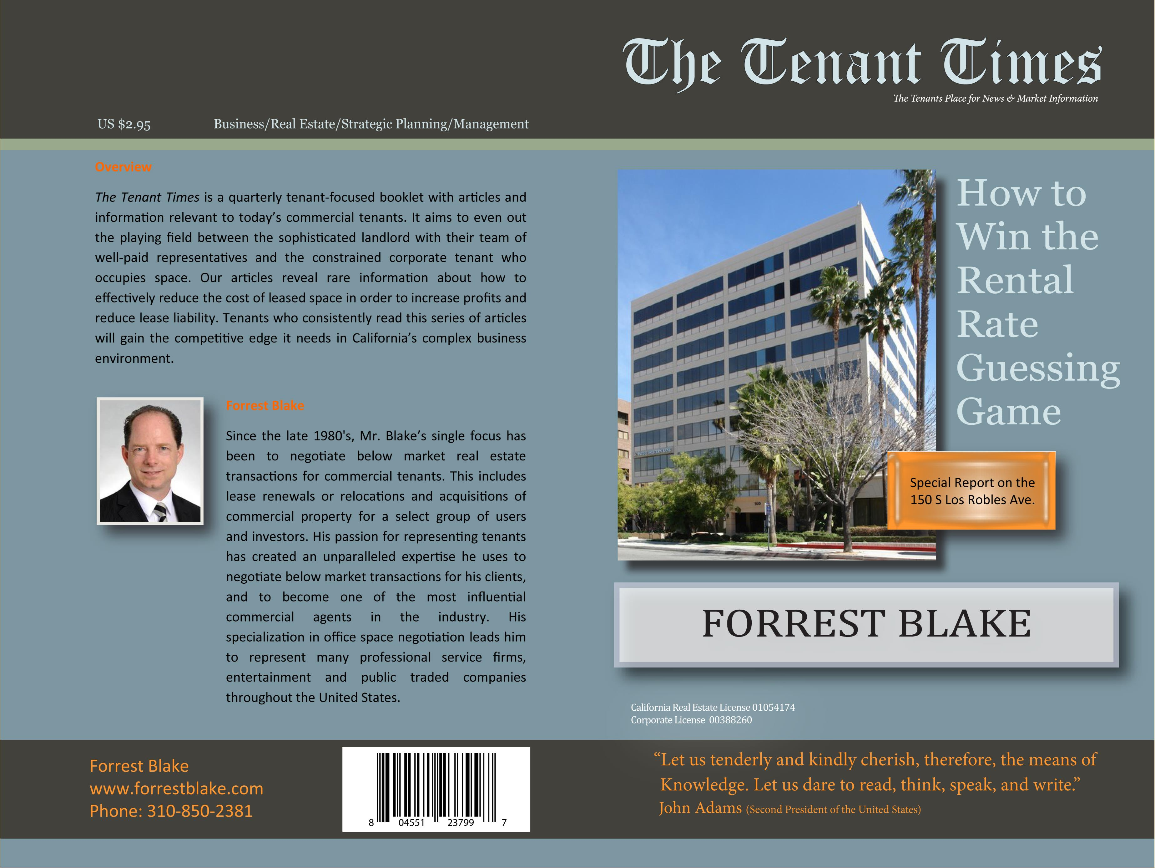 2Q Tenant Times 150 S Los Robles cover image