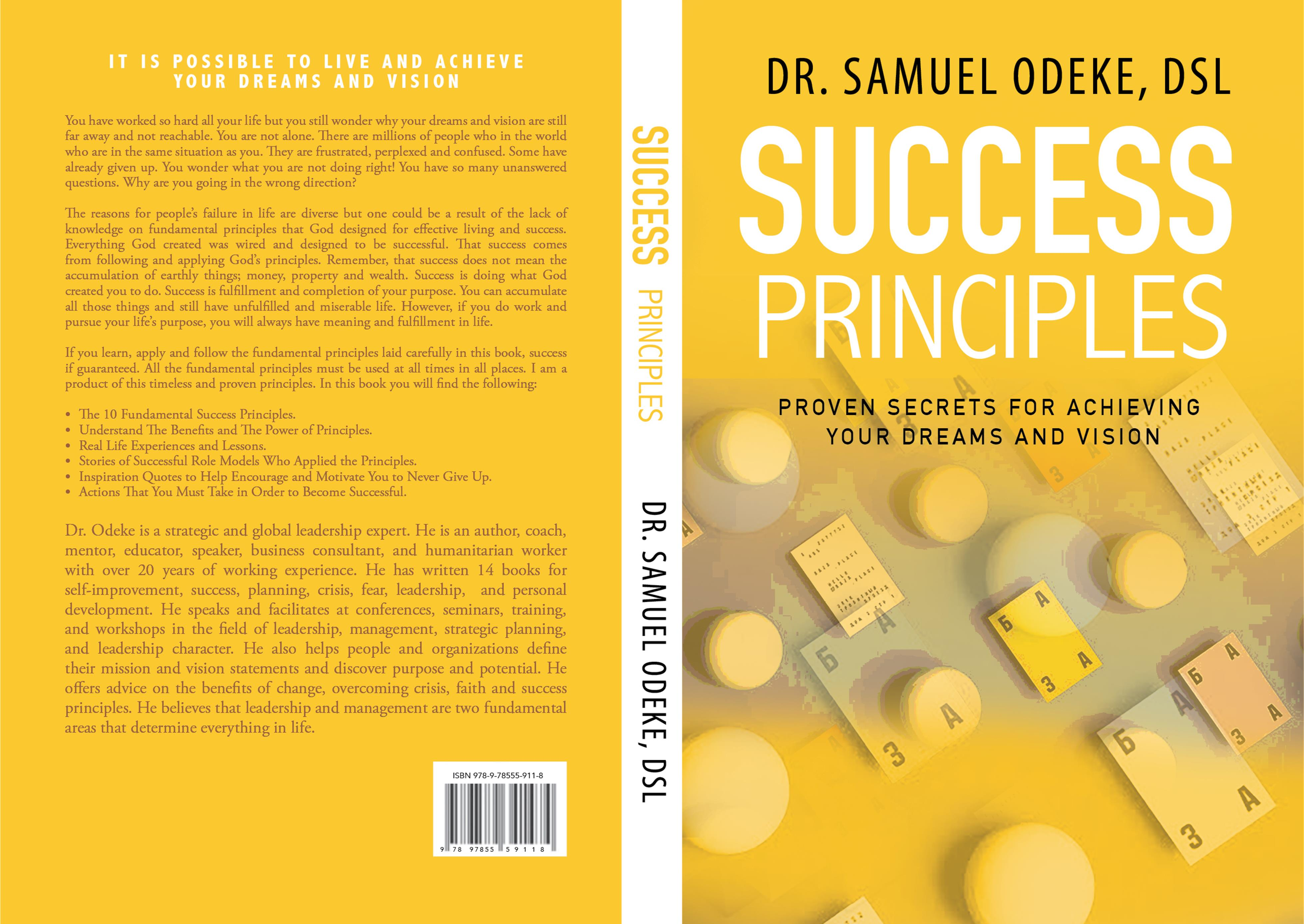 Success Principles: Proven Secrets for Achieving Your Dreams and Vision cover image
