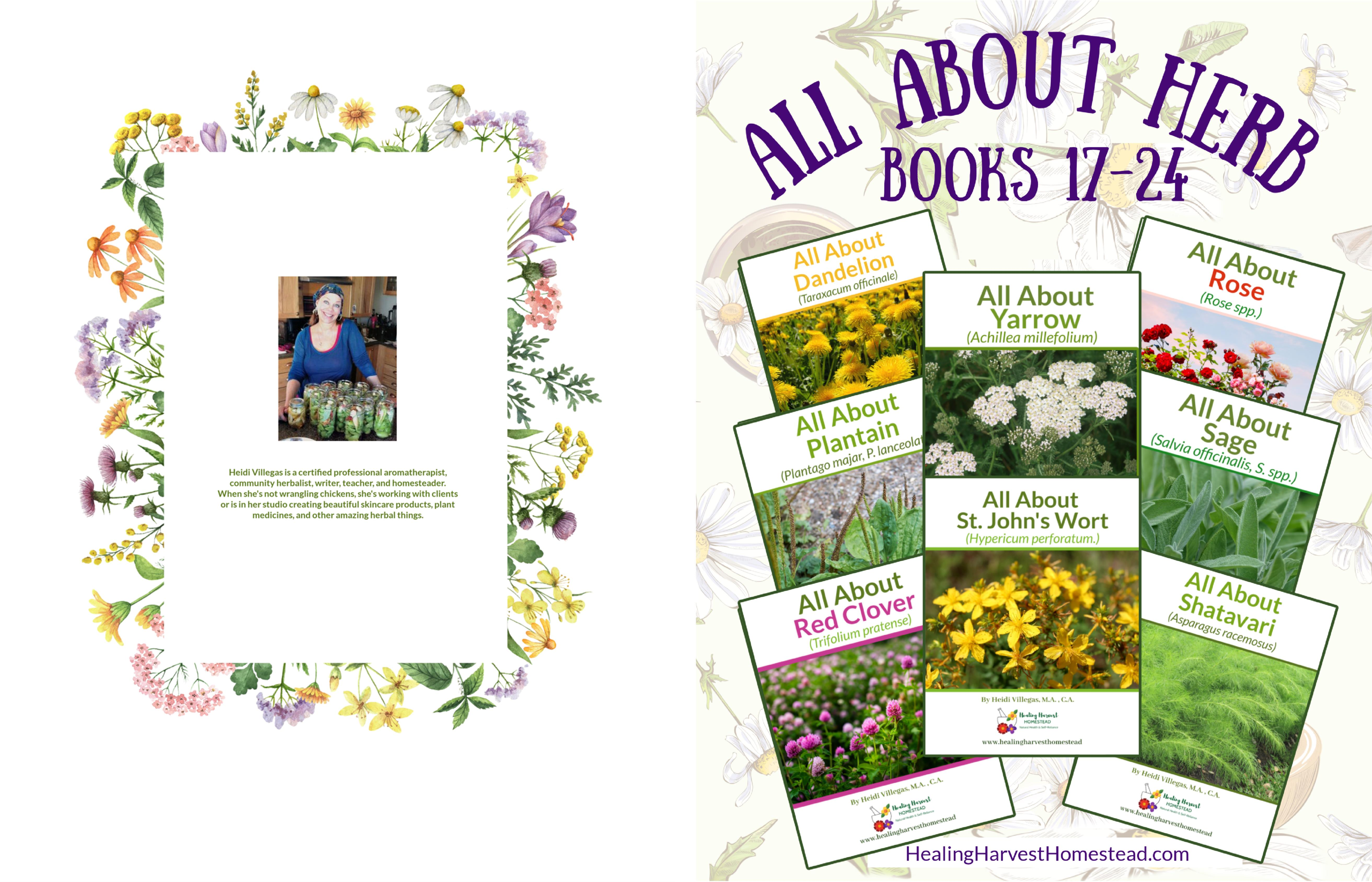All About Herbs Books 17 - 24 cover image