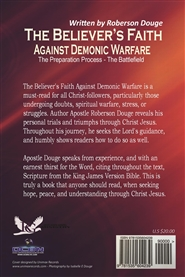 The Believer's Faith Against Demonic Warfare by Roberson Douge