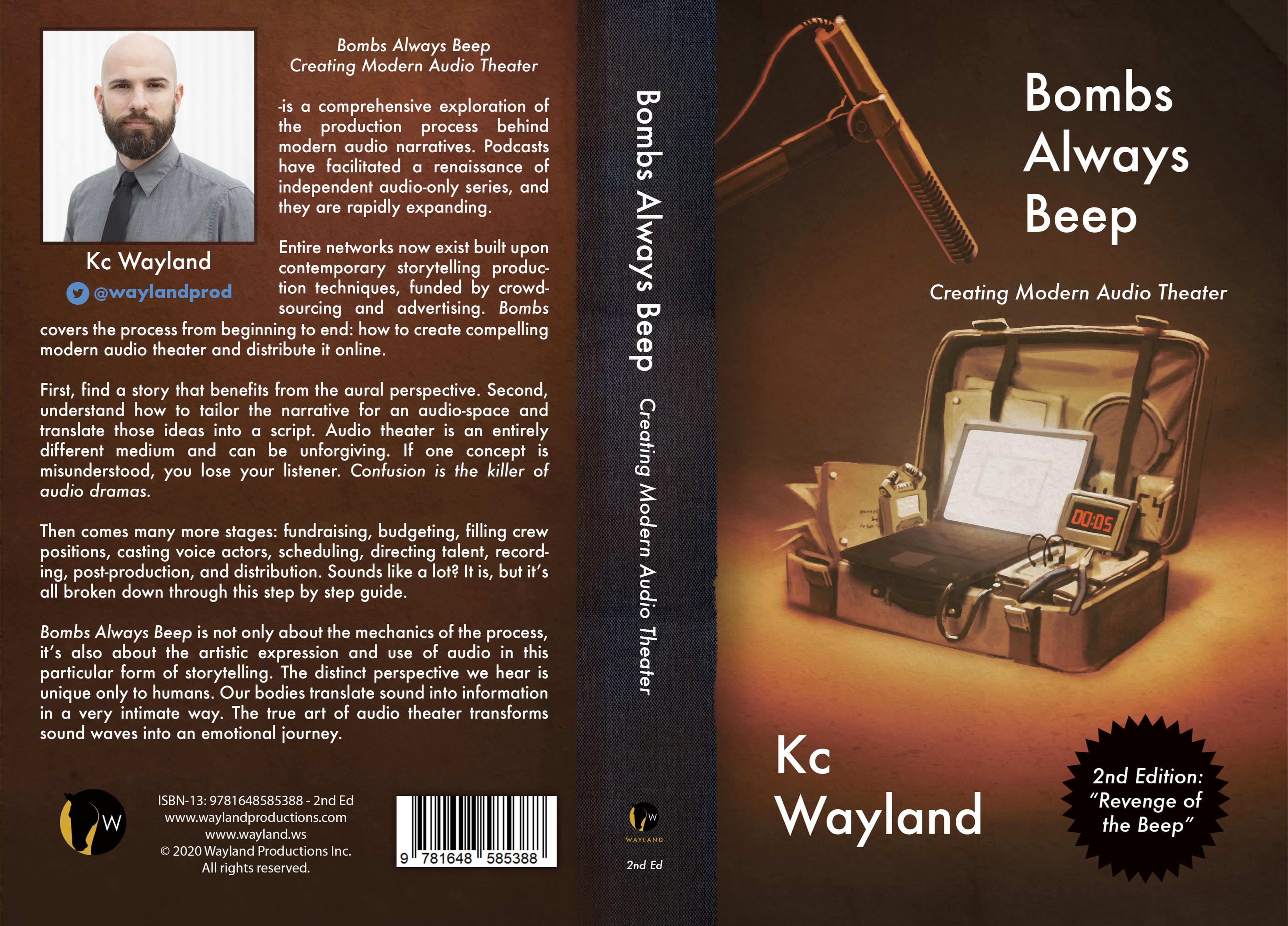 Bombs Always Beep - 2nd Edition - Creating Modern Audio Theater cover image