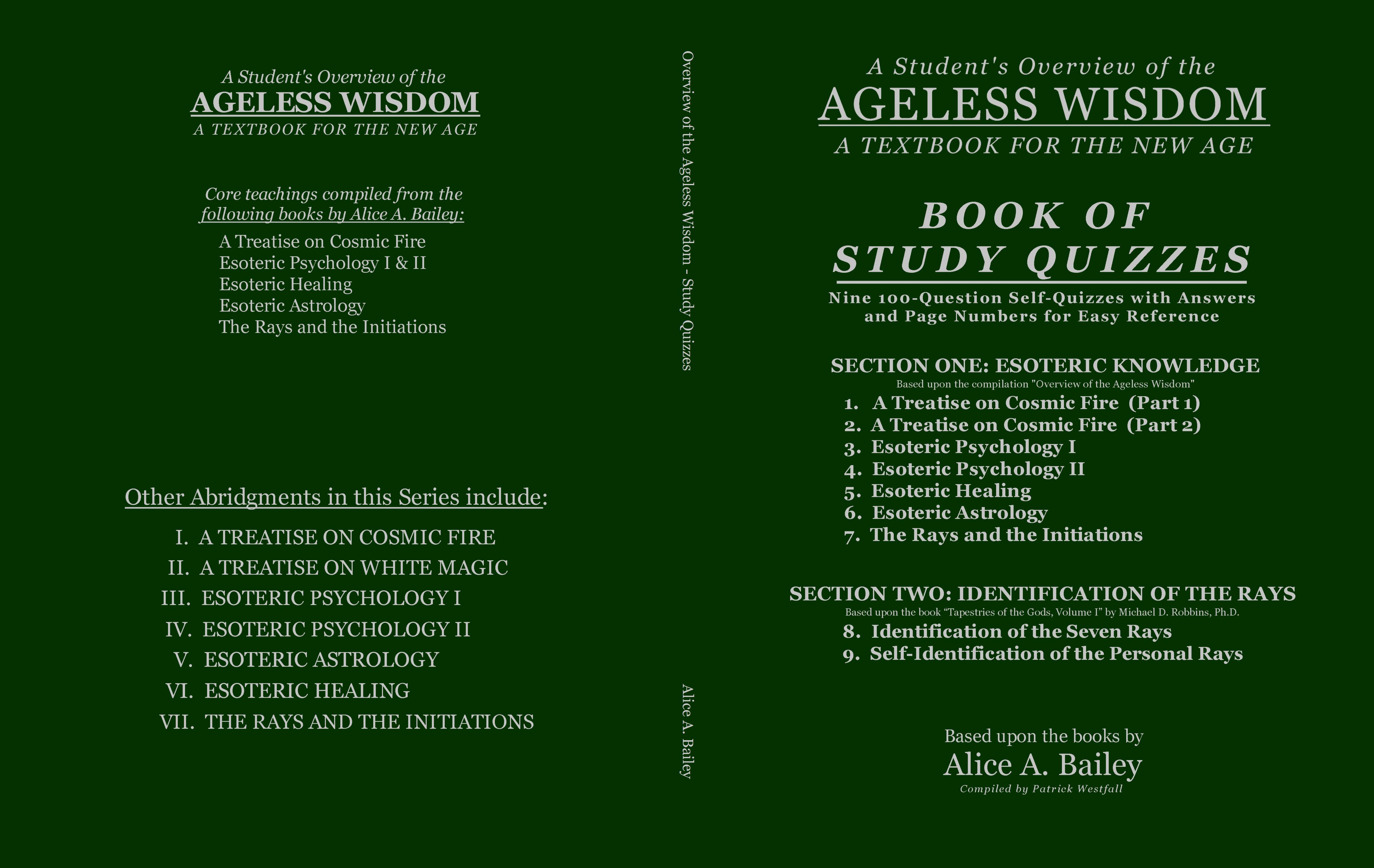 Overview of the Ageless Wisdom: Study Quizzes cover image