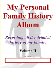 My Personal Family History Album - Volume II cover image