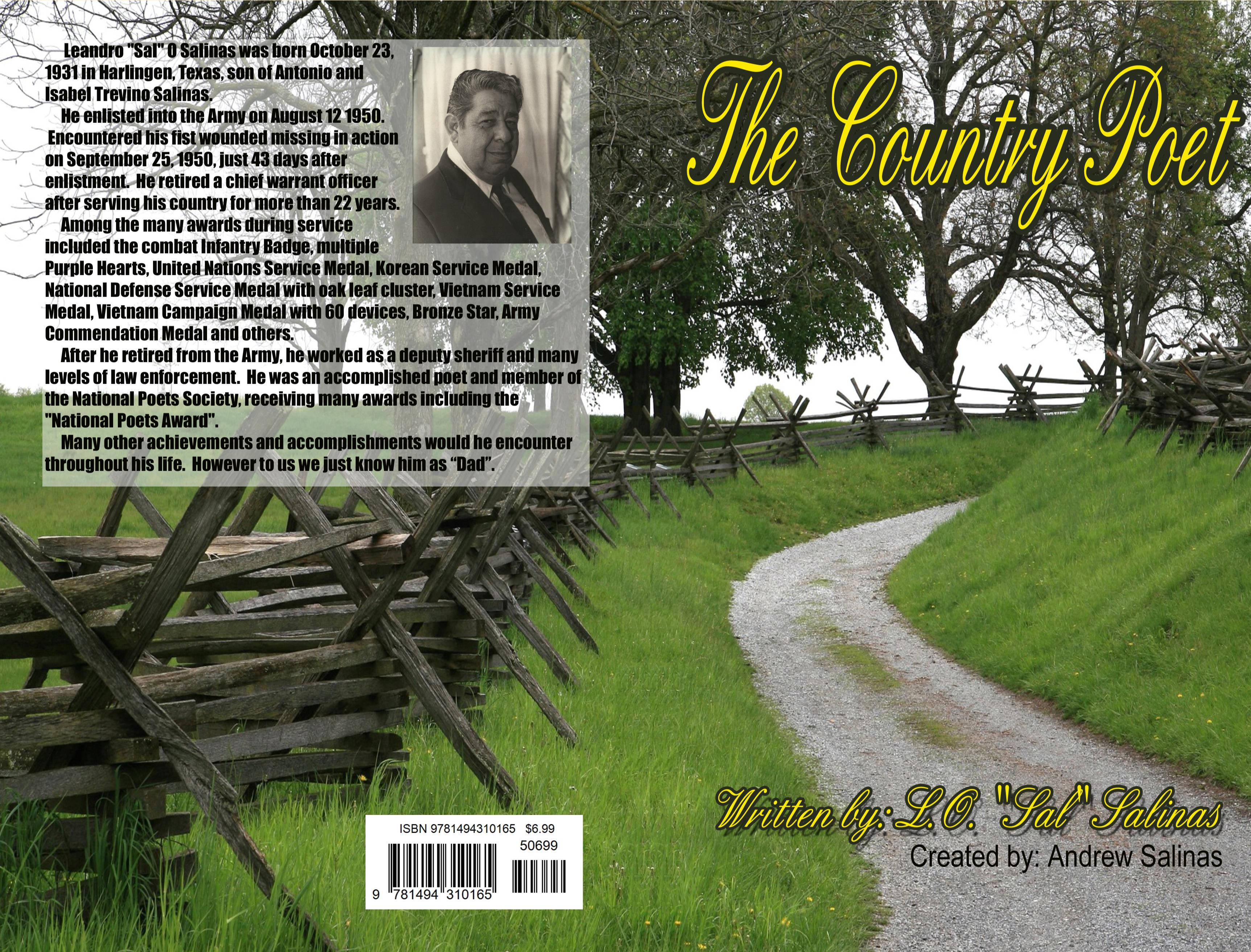 The Country Poet - LOSal Salinas - Spiral cover image