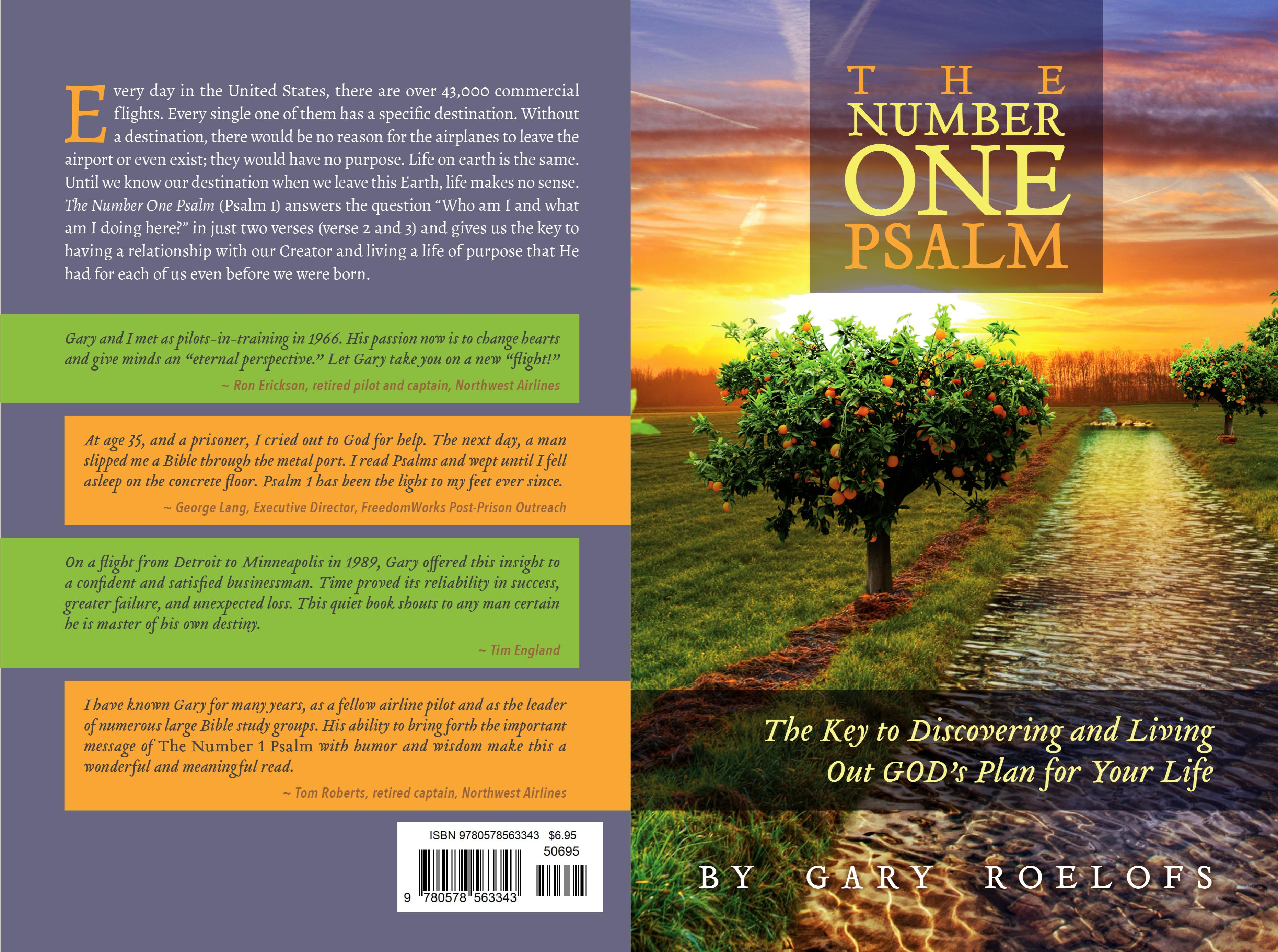 The Number ONE Psalm: The Key to Discovering and Living Out GOD's Plan for Your Life cover image