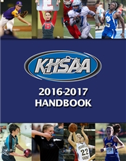 2016-2017 Kentucky High School Athletic Association Handbook cover image