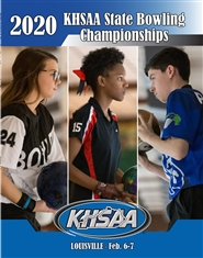 2020 KHSAA Bowling State Championship Program cover image