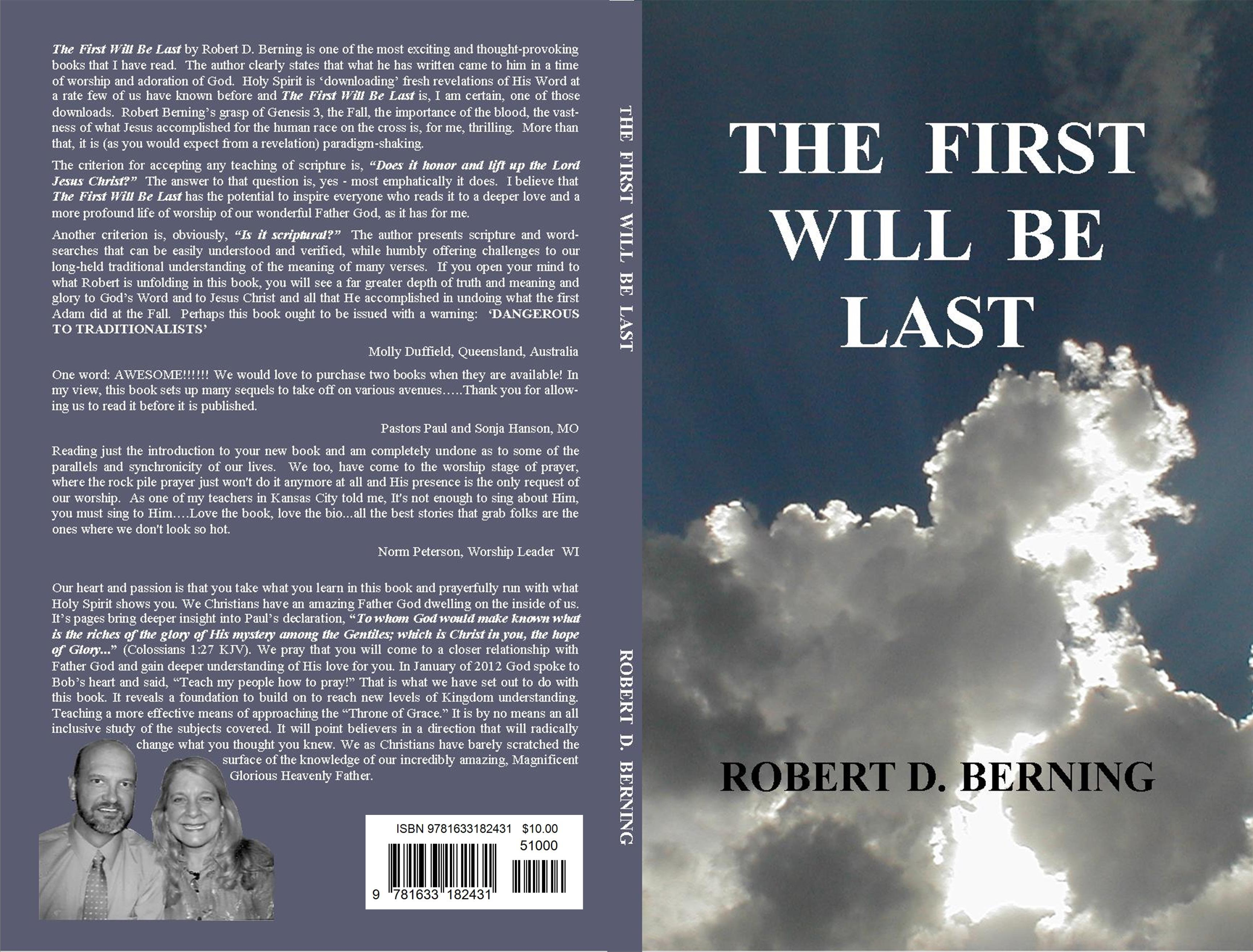 THE FIRST WILL BE LAST cover image