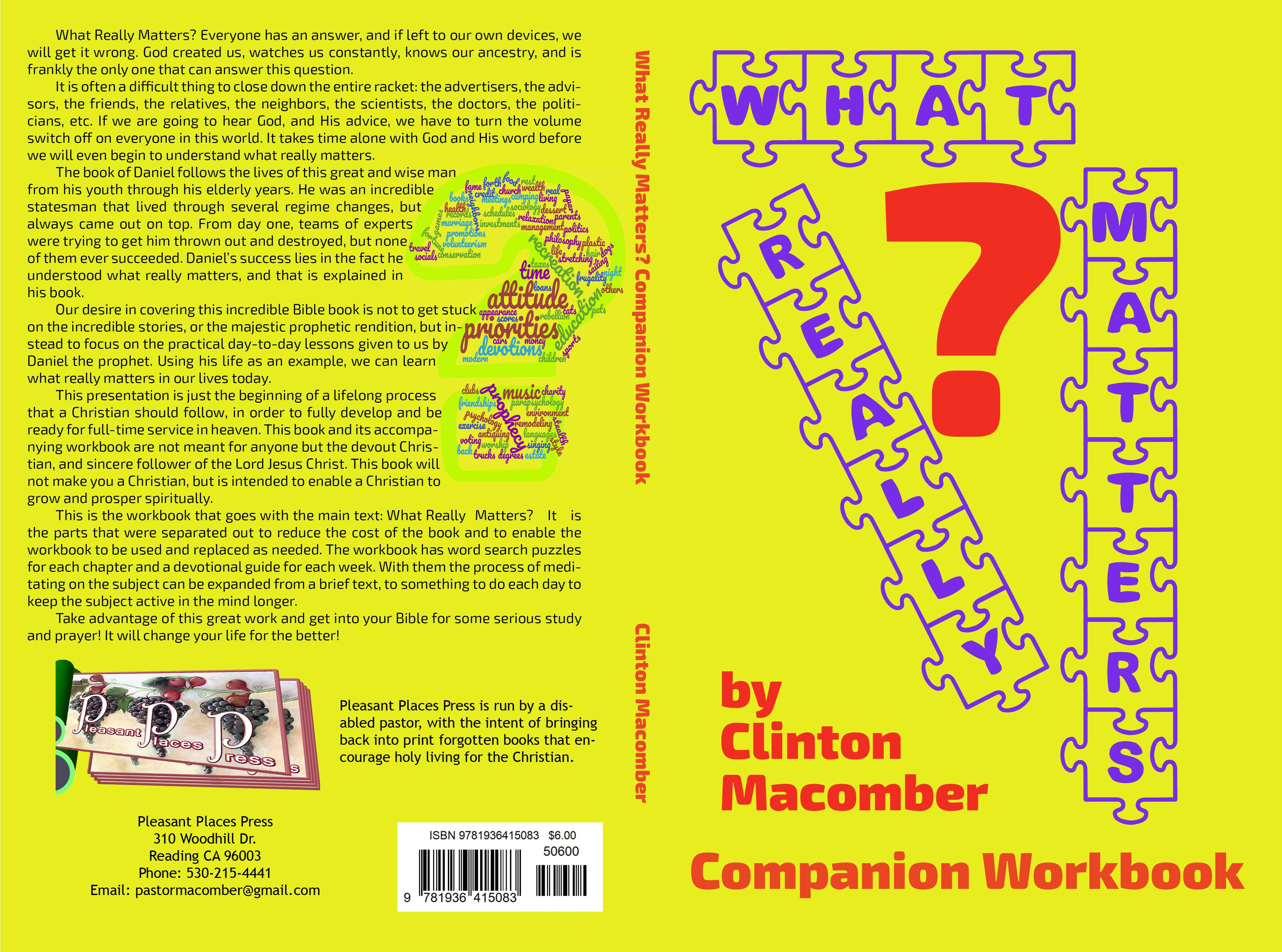 What Really Matters? Workbook cover image
