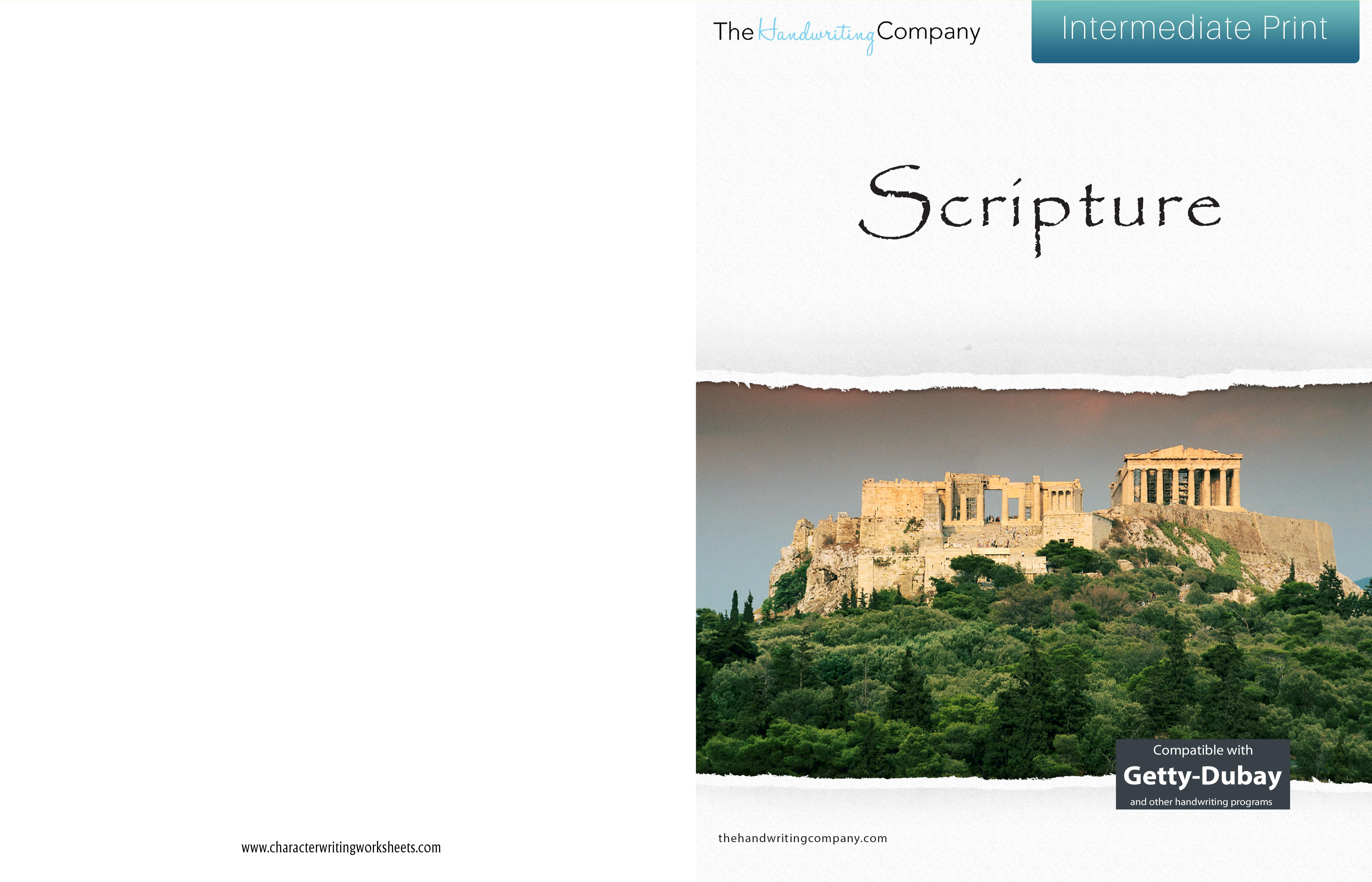 Scripture - GDI - Intermediate Print cover image
