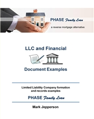 PHASE Family Loan -- LLC and Financial Document Examples ~ cover image