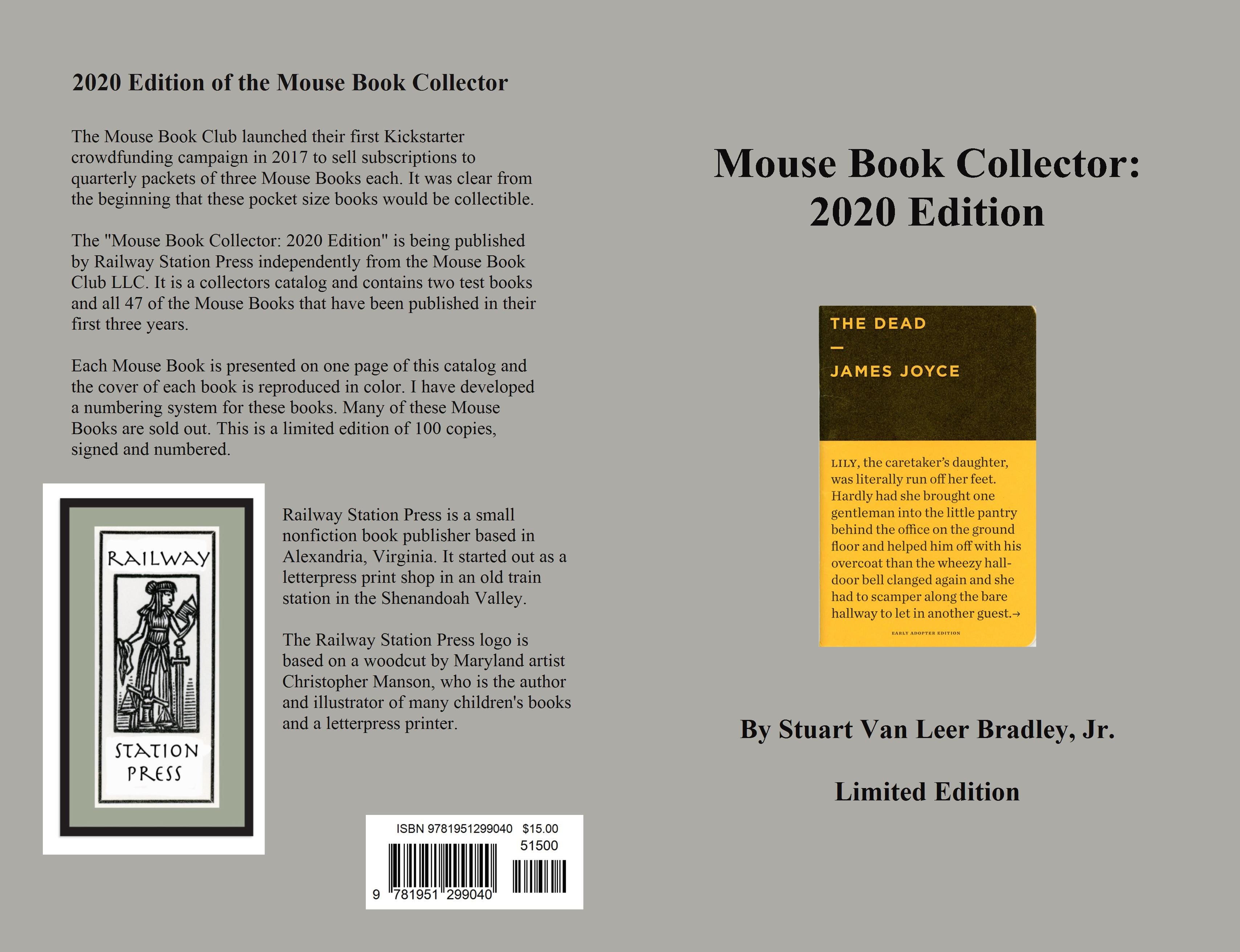 Mouse Book Collector: 2020 Edition cover image