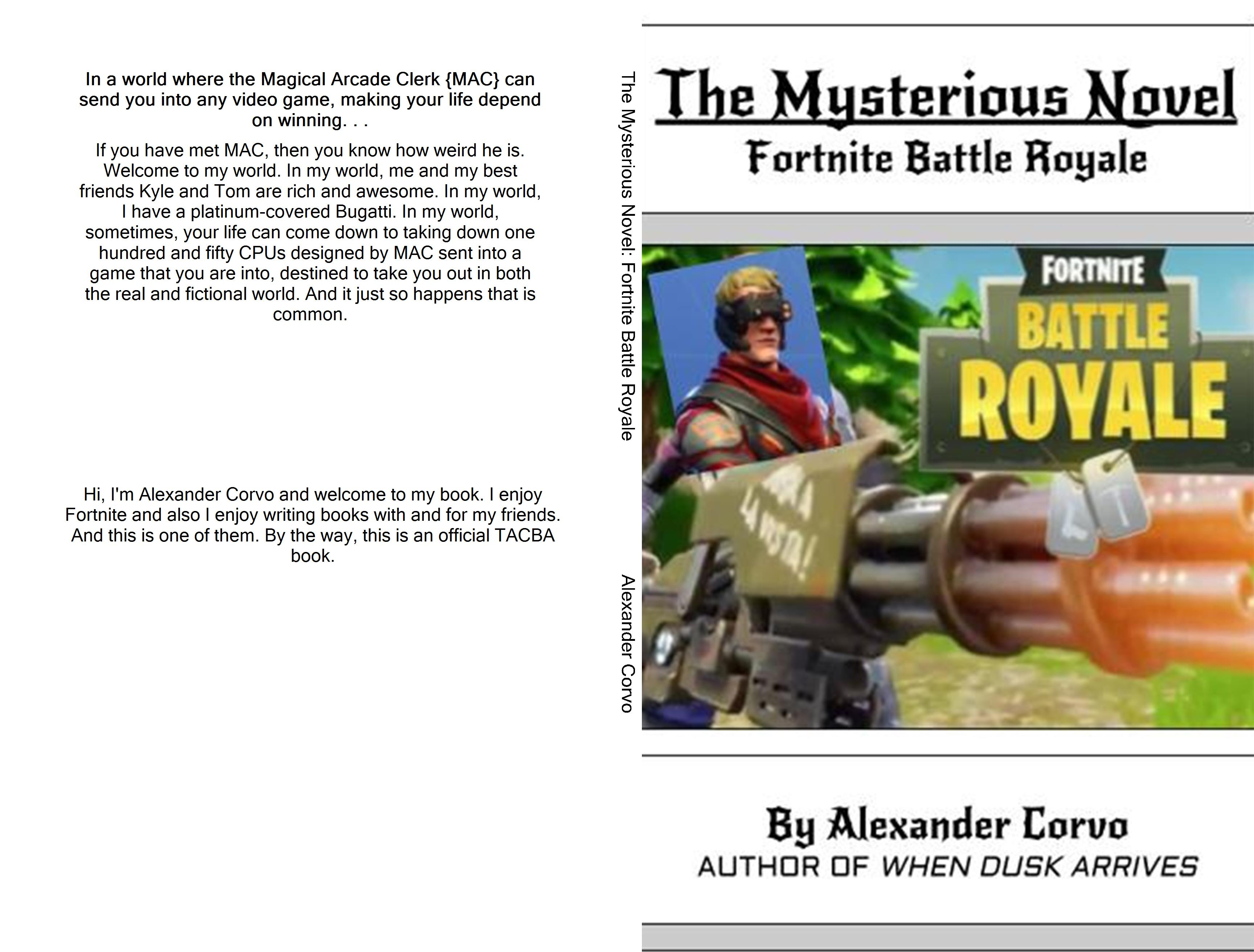 The Mysterious Novel: Fortnite Battle Royale cover image
