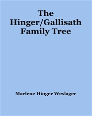 The Hinger/Gallisath Family Tree cover image