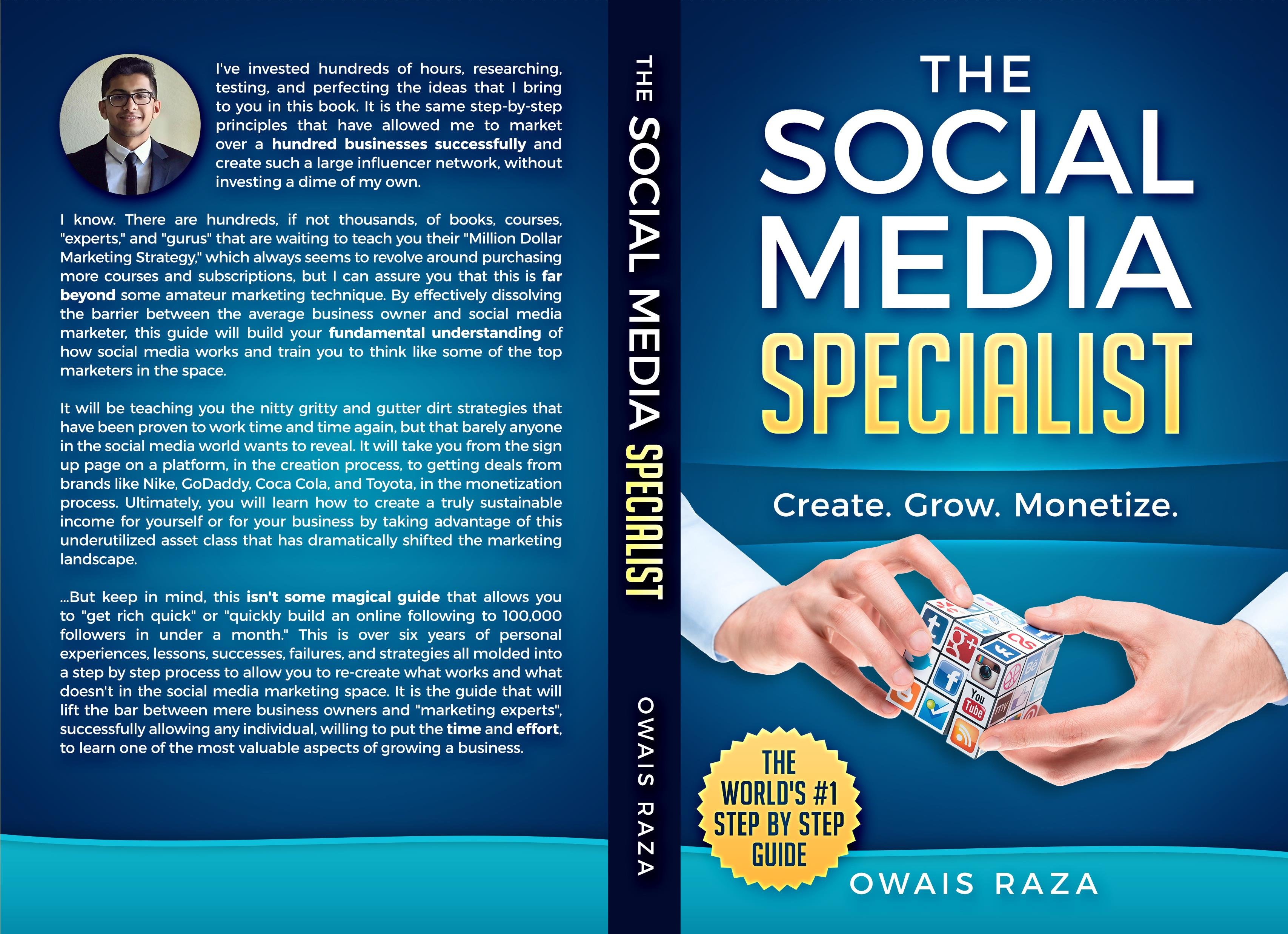 the social media specialist by owais raza    29 99
