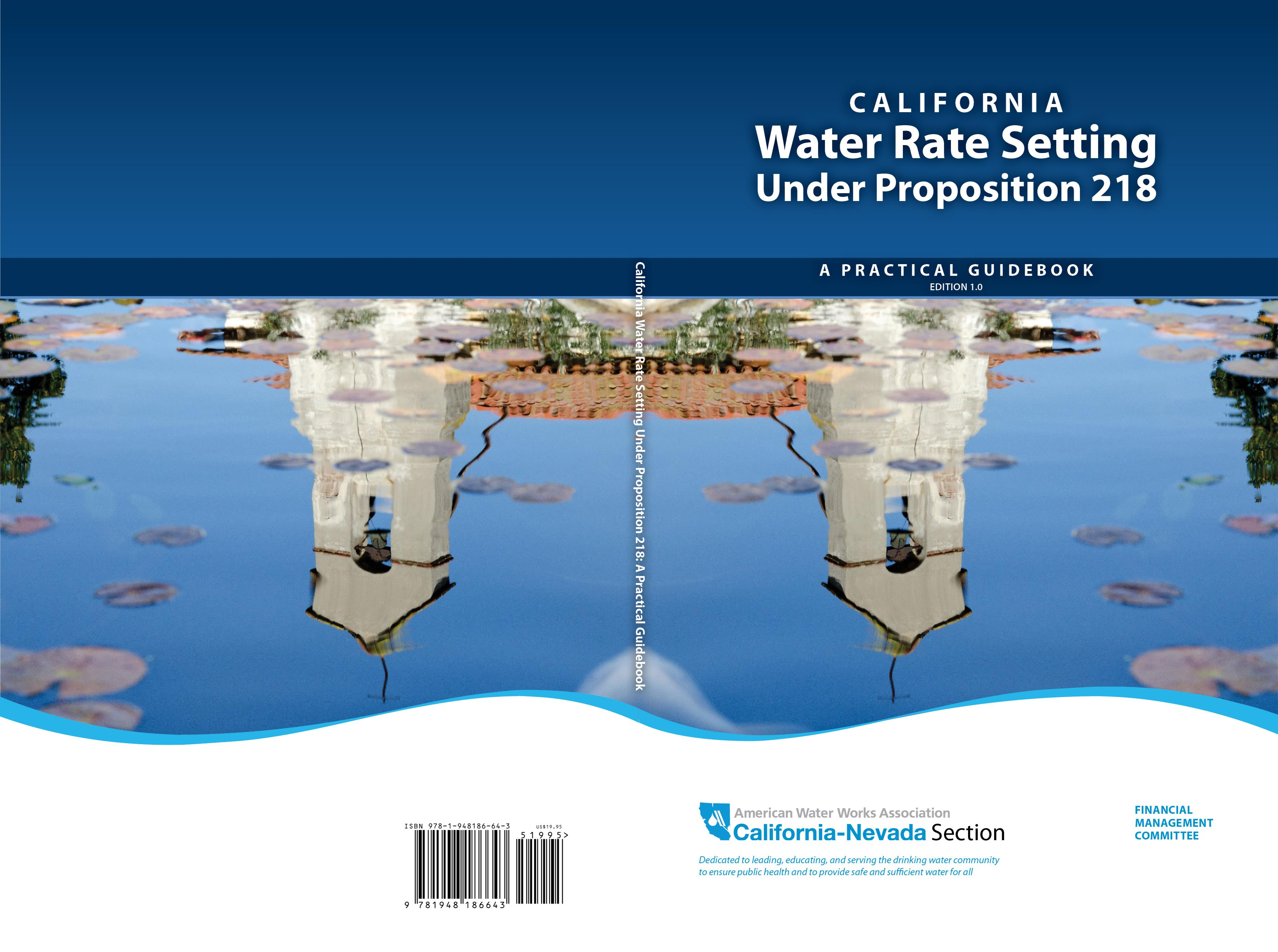 California Water Rate Setting Under Proposition 218: A Practical Guidebook cover image