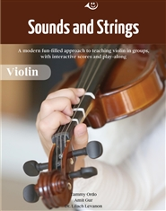 Sounds and Strings: Violin Method with BandPad.co Interactive Website Account cover image