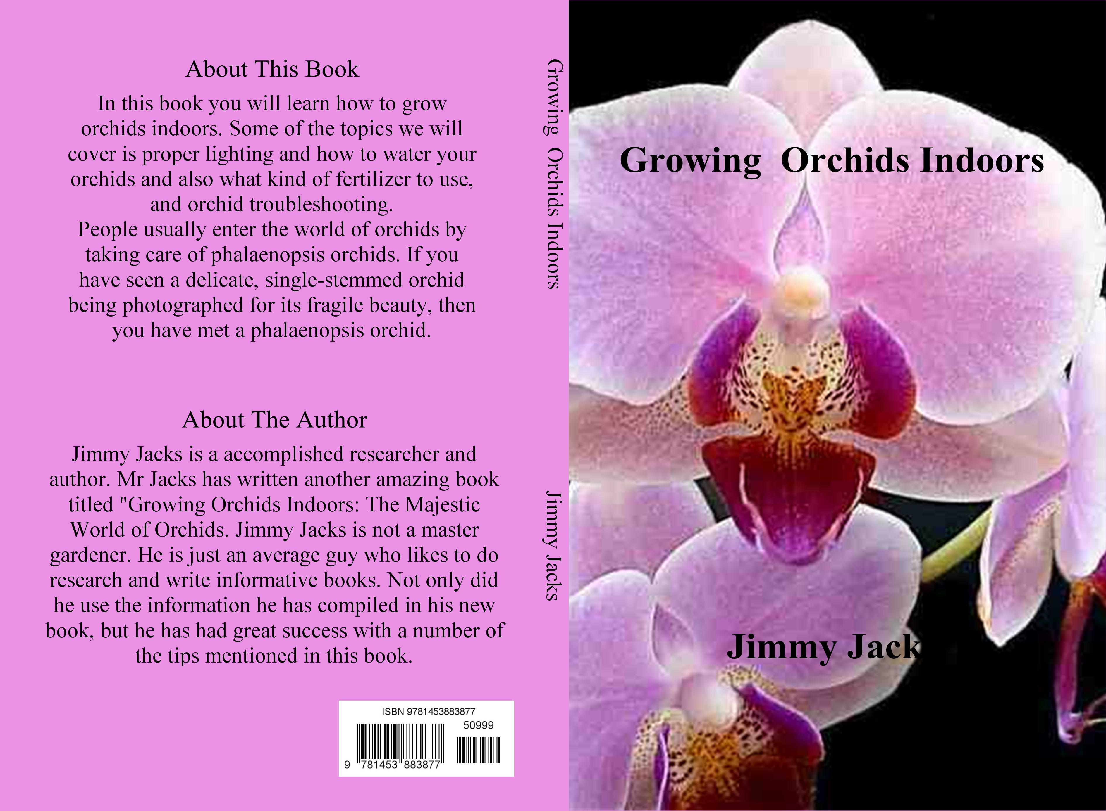 Growing Orchids Indoors cover image