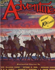 Adventure 1932 September  cover image